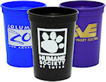 12oz Smooth Stadium Cups